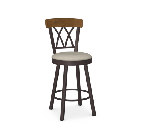Amisco Brittany Swivel Stool at Mums Place Furniture Carmel CA