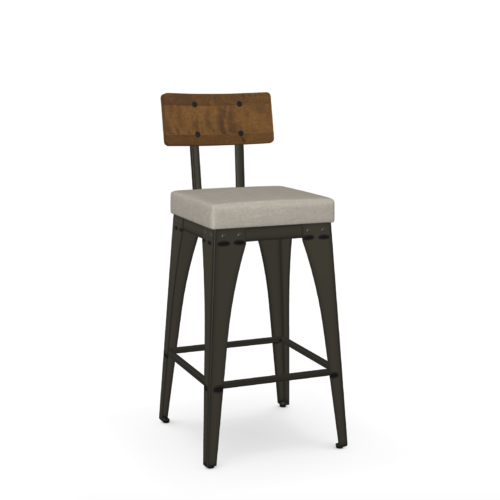 Amisco Upright Barstool at Mums Place Furniture Carmel CA