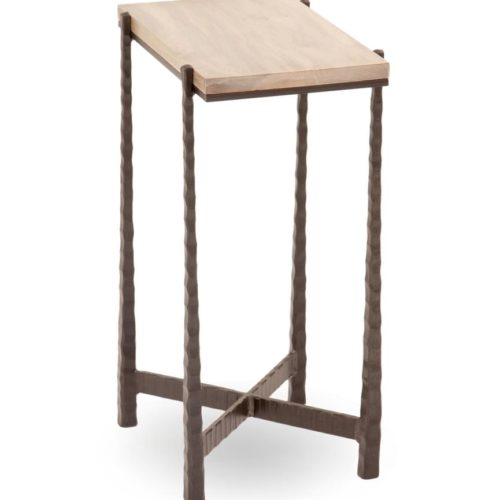 Charleston Forge Nash Rectangular Drink Table Living Room at Mums Place Furniture Monterey CA