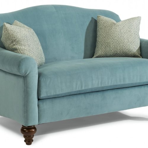Flexsteel Lily Settee Loveseat at Mums Place Furniture Monterey CA