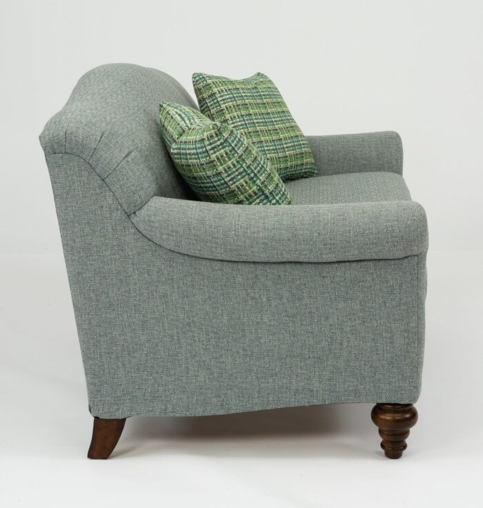 Flexsteel Lily Settee Loveseat for Living Room at Mums Place Furniture Carmel CA