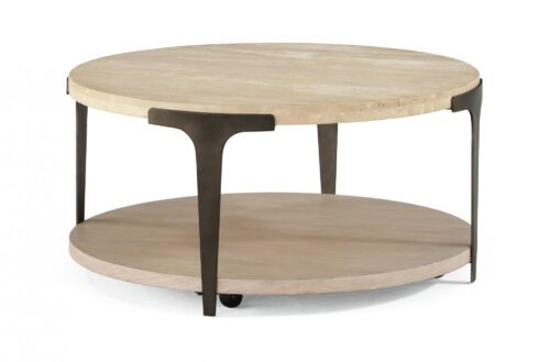 Flexsteel Omni Round Table at Mums Place Furniture Carmel CA
