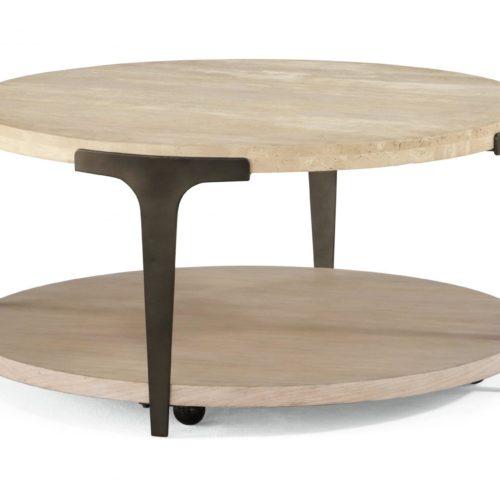 Flexsteel Omni Round Table at Mums Place Furniture Carmel CA