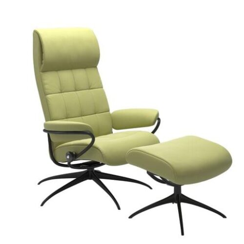 Stressless London Lounge Chairs at Mums Place Furniture Carmel CA