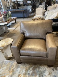 Lexington PDS Leather Chair at Mums Place Furniture Monterey CA