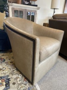 Lee Industries Swivel Chair at Mums Place Furniture Monterey CA