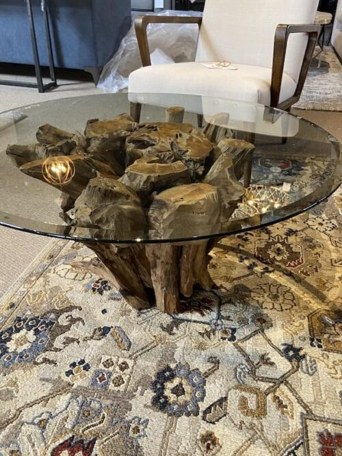 Moes Root Cocktail Table at Mums Place Furniture Monterey CA