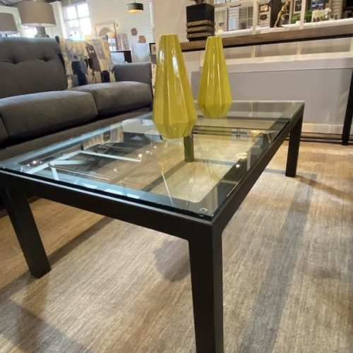 Charleston Forge Parsons Coffee Table at Mums Place Furniture Monterey CA