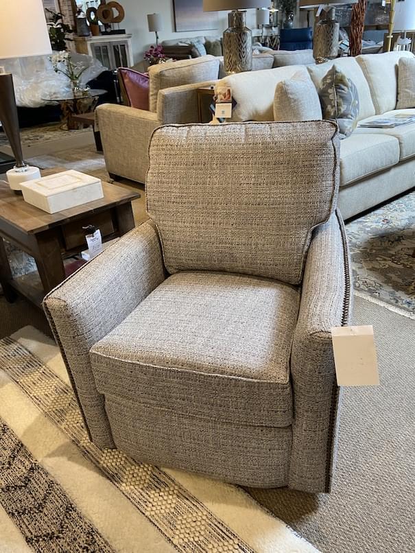 Flexsteel Chamberlain Swivel Chair at Mums Place Furniture Carmel CA