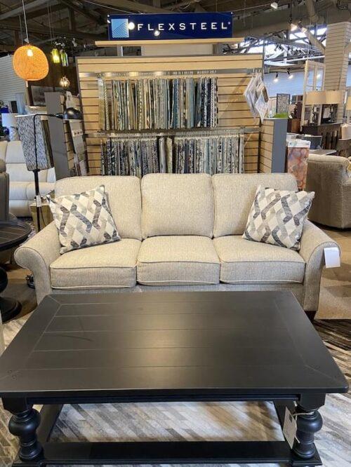 Flexsteel Westside Sofa at Mums Place Furniture Carmel CA
