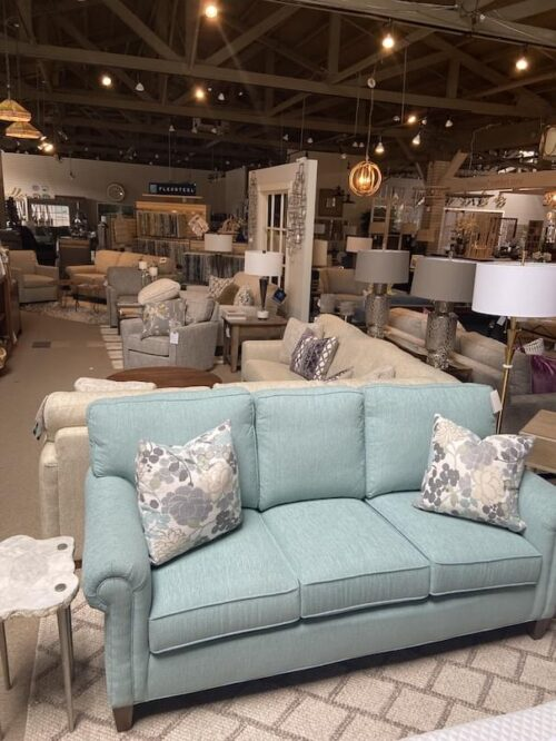 Taylor King Cozy Creations Sofa at Mums Place Furniture Monterey CA