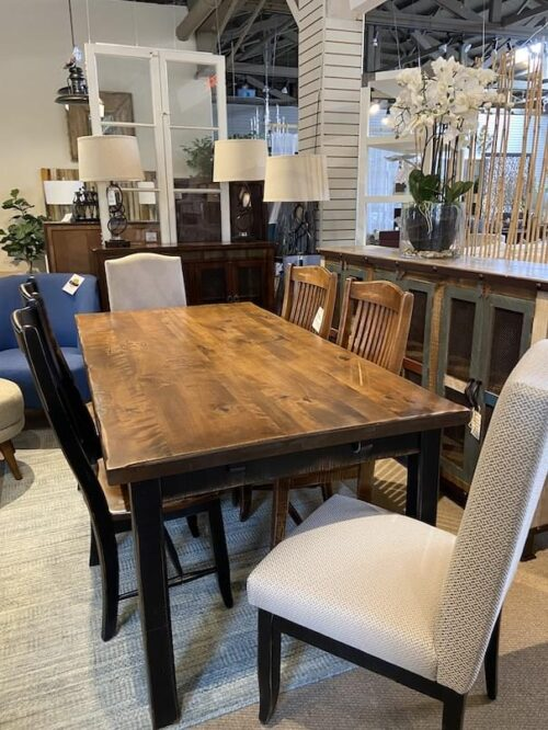 Canadel Champlain Dining Collection - wood Chair at Mums Place Furniture Carmel CA