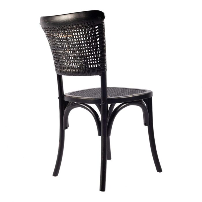Moes Churchill Dining Chair Antique Black for Living Room at Mums Place Furniture Monterey CA