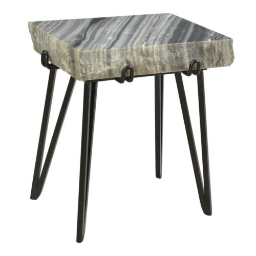Moes Alpert Accent Table Grey at Mums Place Furniture Monterey CA