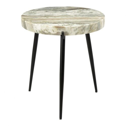 Moes Brinley Marble Accent Table at Mums Place Furniture Monterey CA