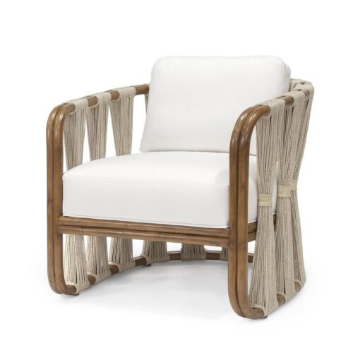 Palecek Strings Attached Lounge Chair at Mums Place Furniture Monterey CA