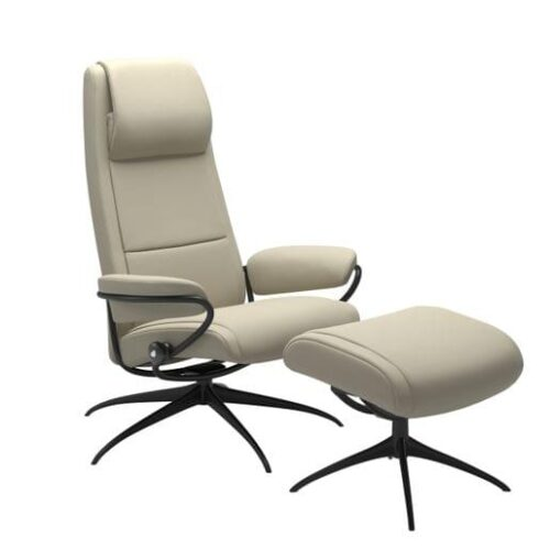 Stressless Paris Lounge Chairs at Mums Place Furniture Carmel CA