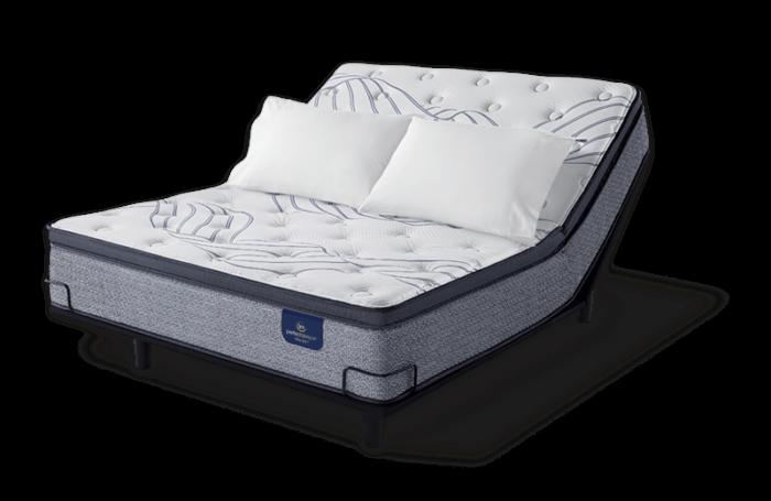 Serta Kleinmon II Pillow Top Plush mattress at Mums Place Furniture Monterey CA