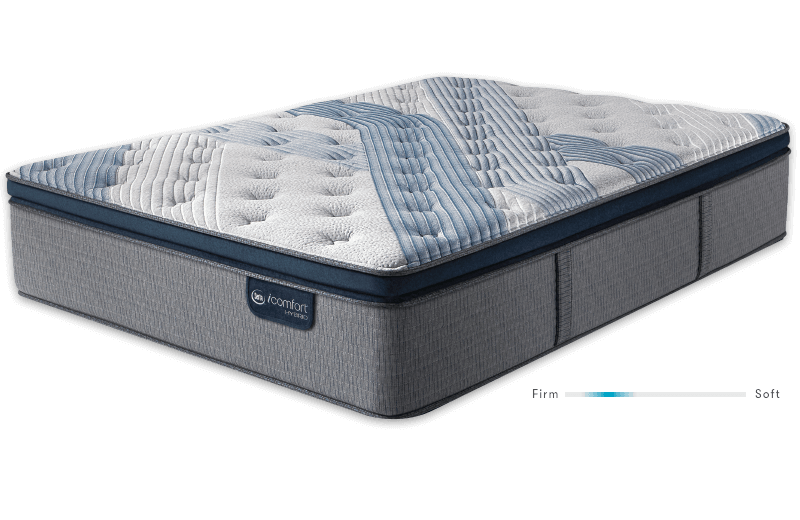 Serta Blue Fusion 1000 Luxury Firm Pillow Top mattress at Mums Place Furniture Monterey CA