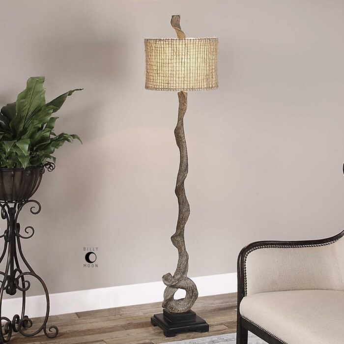 Uttermost Driftwood Floor Lamp for Living Room at Mums Place Furniture Carmel CA