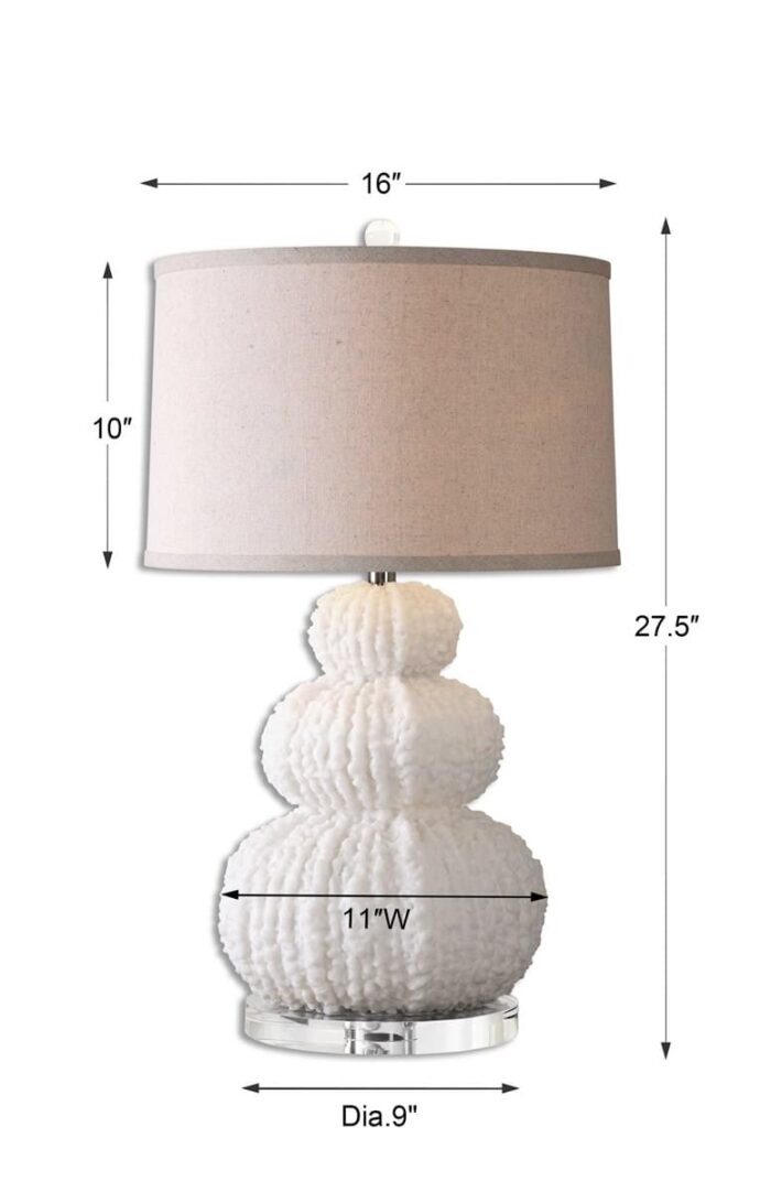 Uttermost Fontanne Table Lamp at Mums Place Furniture Monterey CA