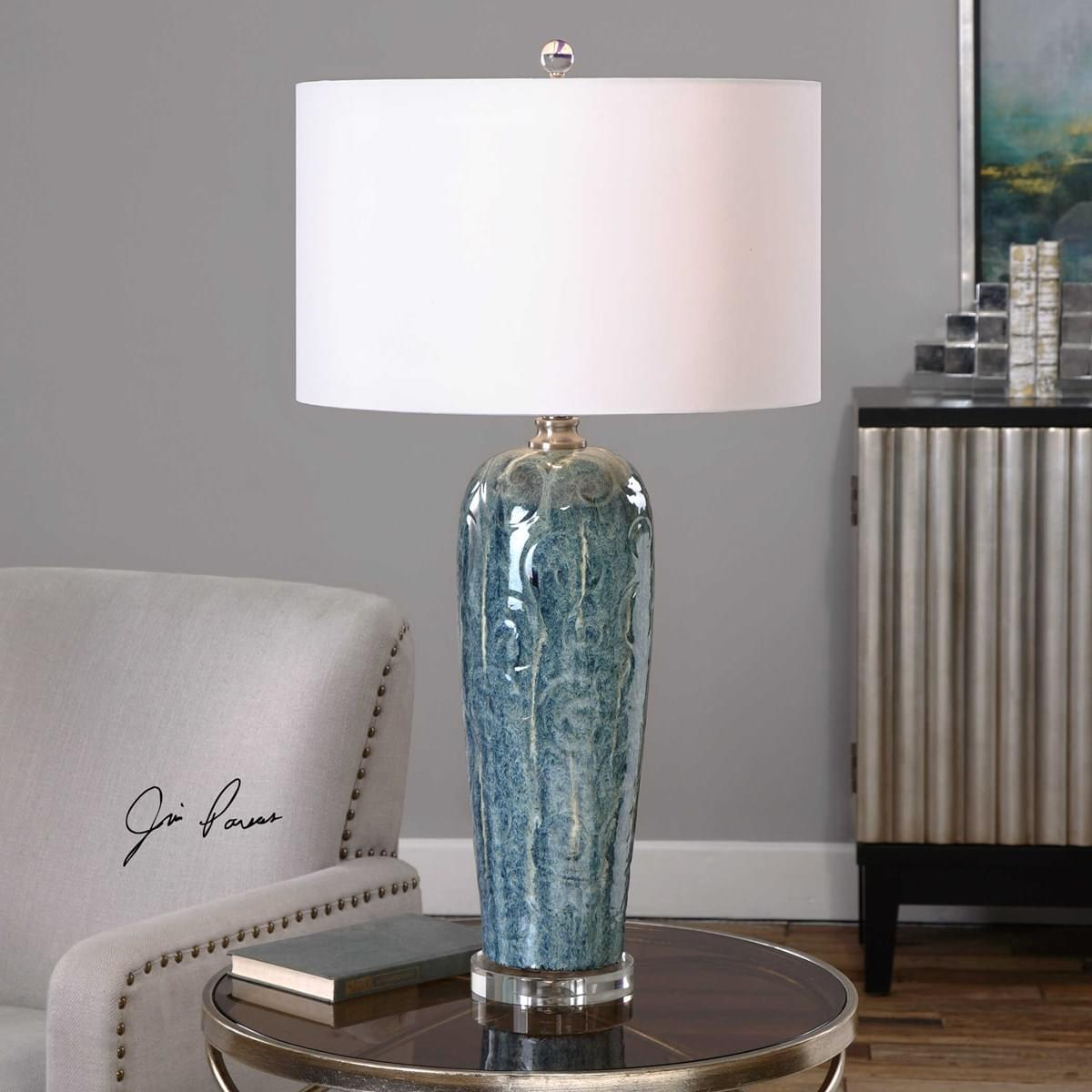 Uttermost Accessories Maira Floor Lamp for Living Room at Mums Place Furniture Monterey CA
