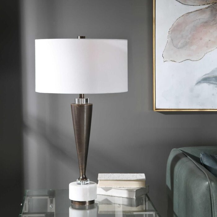 Shop Uttermost Table lamp in Carmel. We carry a wide range of accessories for your living room in Monterey county! Stop by Mums Place Furniture Store in Carmel, CA.