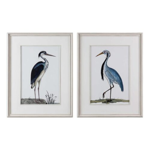 Uttermost Shore Birds Framed Prints at Mums Place Furniture Monterey CA