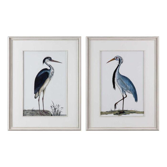 Uttermost Shore Birds Framed Prints at Mums Place Furniture Monterey CA