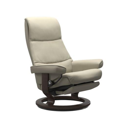 Stressless View recliner at Mums Place Furniture Monterey CA