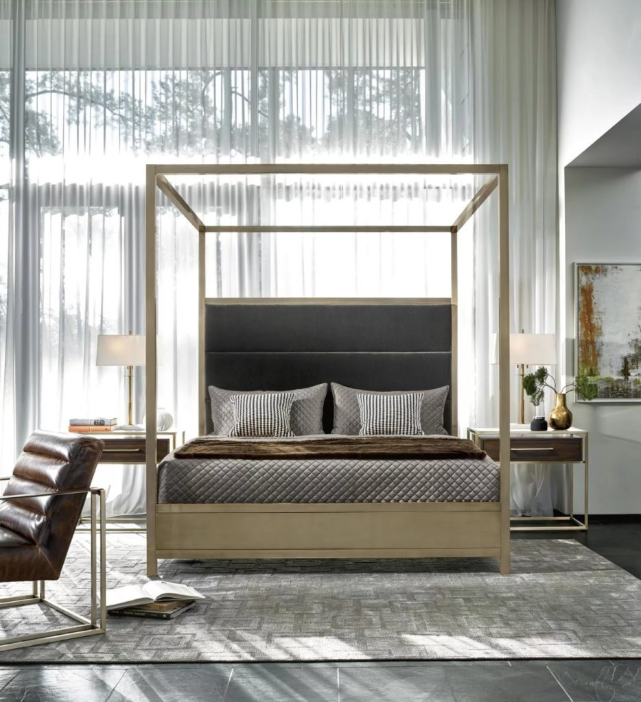 Harlow Canopy Bed by Universal