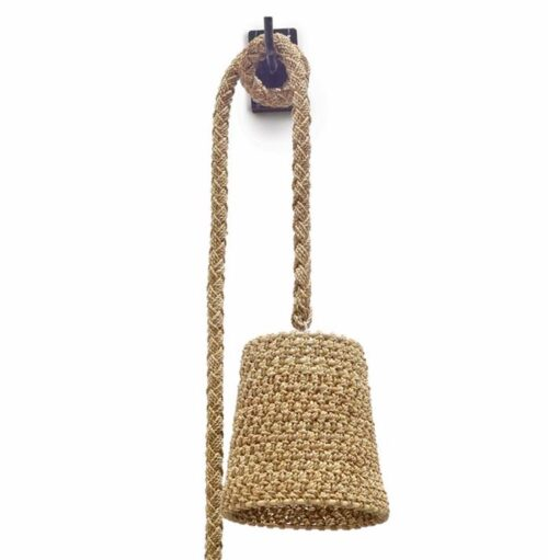 Palecek Nautical Rope Wall Sconce Lighting