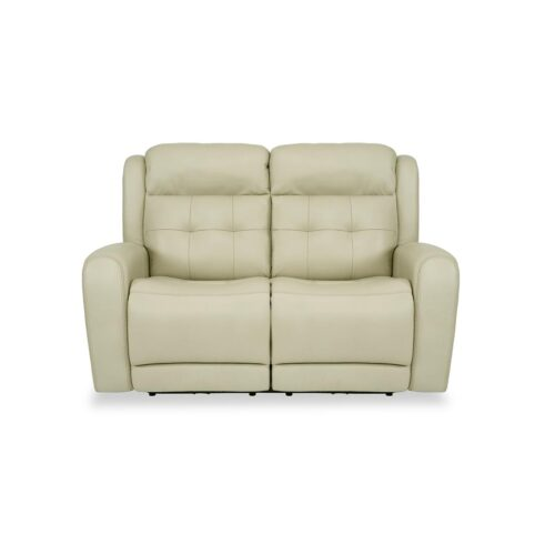 Flexsteel Grant Power Reclining Loveseat Pebble Beach Home