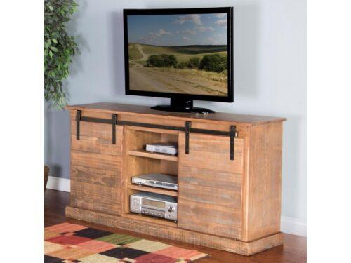 Sunny Designs Wooden Media Shelving Unit Furniture Store Carmel California