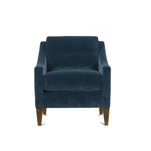Rowe Keller Modern Contemporary Furniture Accent Chair Home Furniture Carmel Coastal Furniture